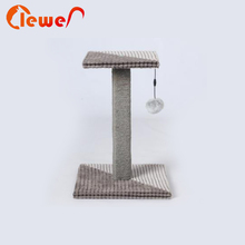 New model simple funny pet toys cat tree with low price