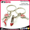 Factory direct sale shoe high quality key chains