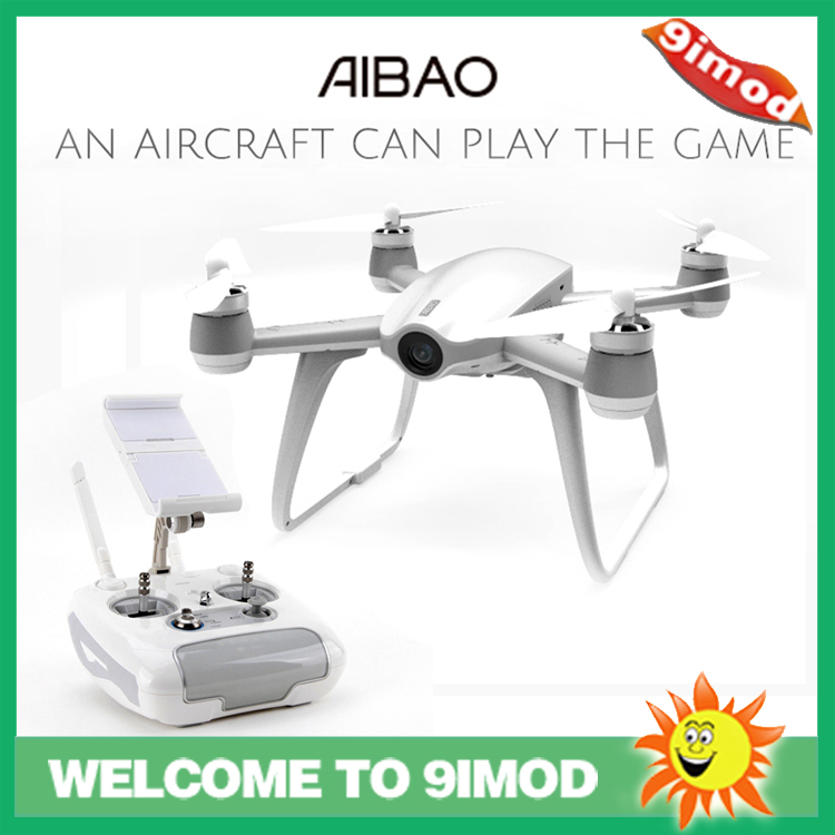 Newest Walkera Aibao 2.4G 4CH WIFI FPV With 4K HD Camera APP Virtual Racing RC Quadcopter RTF