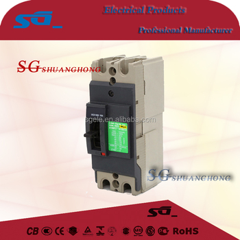 double pole Circuit Breaker SPDP MCCB