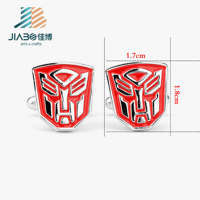 factory direct sell transformers superhero cufflinks Mens business gifts cufflinks
