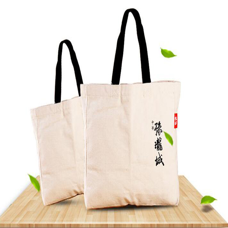 China factory New product Large brief white wholesale free sample foldable nylon waxed thick canvas fashion tote bag