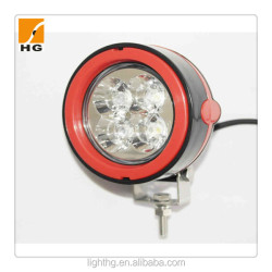 motorcycle led driving lights 3D reflector 3inch 12w led head light round for atv