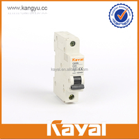 Factory produced wholesale C65N single pole n circuit breaker,16 amp mcb