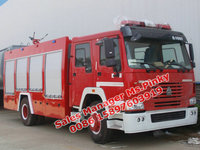 Sinotruk HOWO Water Tender Fire Engine 8Tons Fire Truck With Water and Foam Tanker For Sales Call Ms.Pinky 0086 15897603919