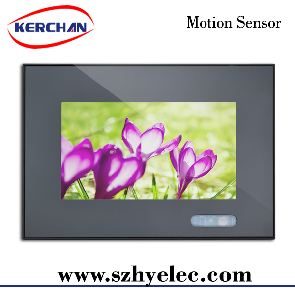7 inch weldless lcd seamless tiled display wall sale
