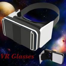 3D VR Glasses, 96 degrees FOV 3D VR Headset Virtual Reality Box with Adjustable Lens and Strap for smartphone