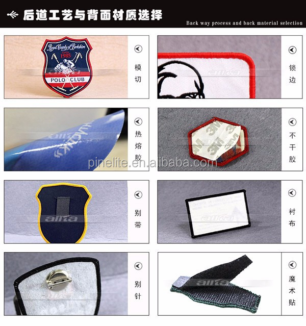 high quality mouth custom patches embroidery iron on