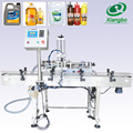 Small automatic engine lube oil filling machine