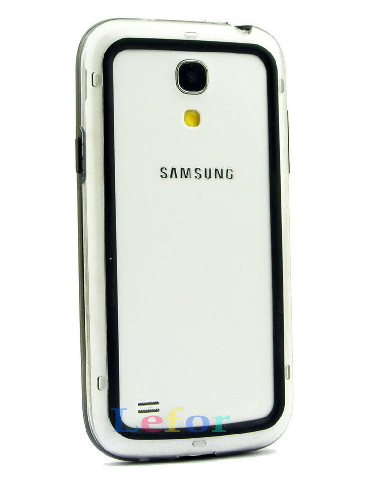High Quality TPU Silicone Bumper Frame Case Cover For Samsung Galaxy S4 Mini i9190