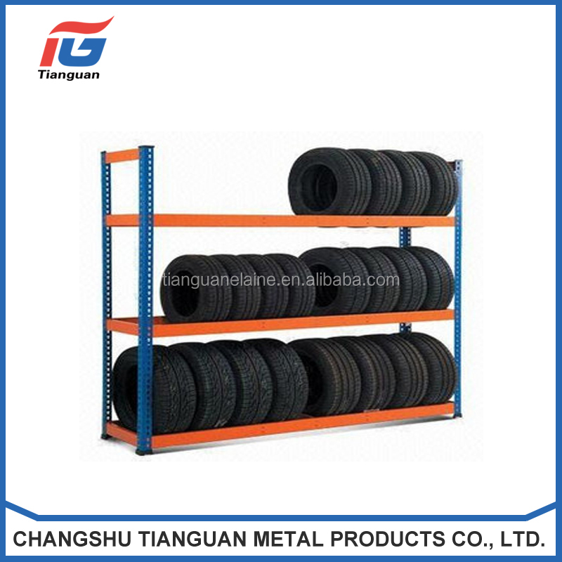 Customized Garage Shelving 5 Tier Boltless Workshop Storage Racking Shelves Unit