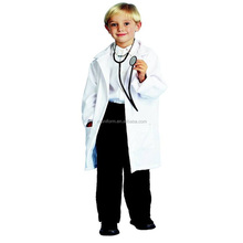 Kids Doctors,scientist white lab coat,childrens girls,boys fancy dress costume
