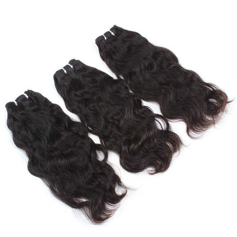 virgin chinese girl hair weaving natural pure color,16'' wholesale price free shipping