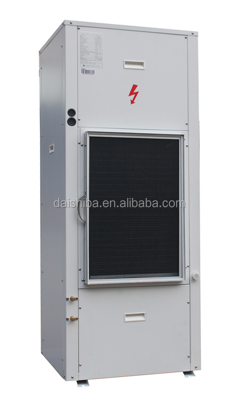8kW vertical type DC inverter Water to Air Heat Pump R410A heating, cooling