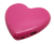 3000mah Heart shape mobile power bank portable charger for mobile phone