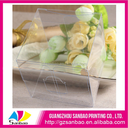 Various design clear plastic disposable food box