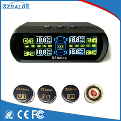 Stable wireless signal transmission diy solar power tpms motorcycle tire pressure monitoring system