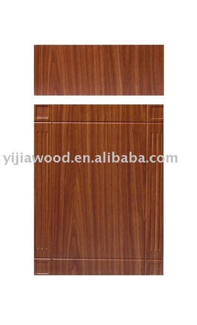 Cabinet doors made in wooden PVC thermo foil faced MDF boards