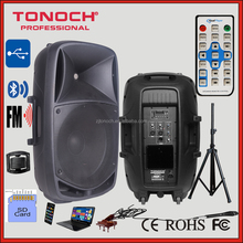 OEM and ODM factory 10 inch stage ABS material Active Amplified Professional Speakers