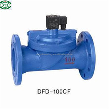 DFD65CF Two way pilot operated large diameter electromagnetic Valve DFD-65CF