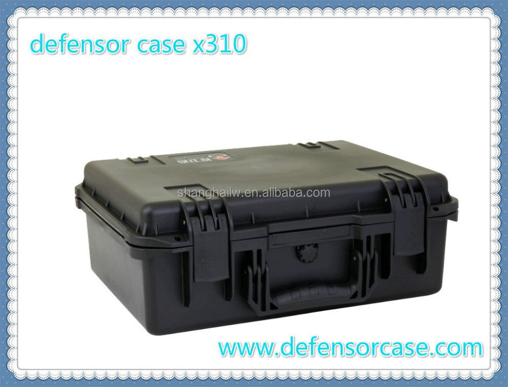 X310-Hard PP Waterproof Plastic Instrument Case for Equipment