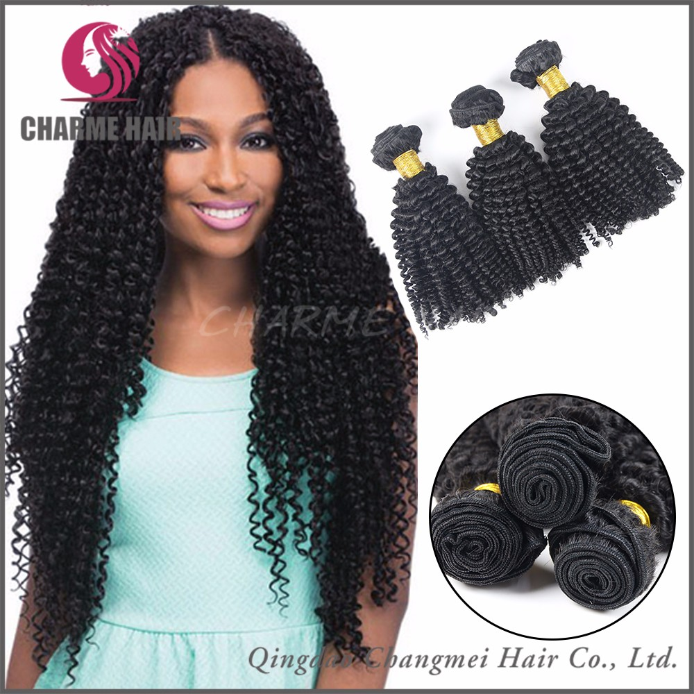 Best Selling Virgin Mongolian Kinky Curly Human Hair weave
