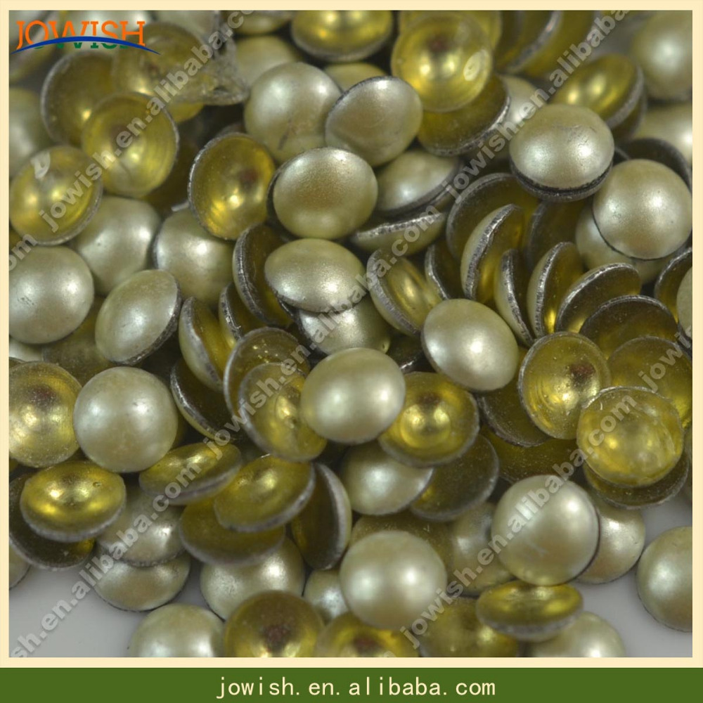 new products fashion epoxy pearl beads with glue