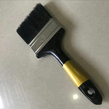 Chile cheap black PP filament paint brush with SOLID PLASTIC HANDLE