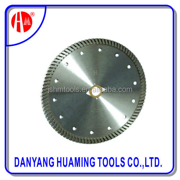 super thin continuous rim circular wet glass diamond blade /diamond cutting disc