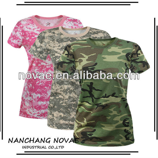Camo shirt women woodland camouflage shirt