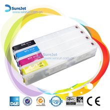 China manufacture ink cartridge for HP 970 /971 cartridge refill ink