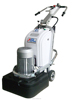 concrete Floor Grinder magnatic plates with 12 grinding head for big area
