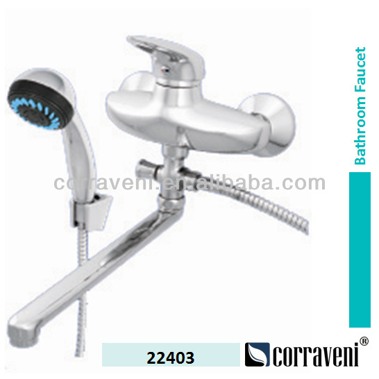 wall mounted single lever bath shower faucet cheap mixer 22403