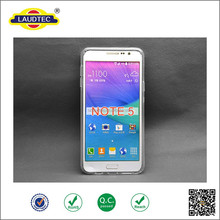 Transparent Waterproof TPU Gel Case for Samsung Note 5 Cellphone