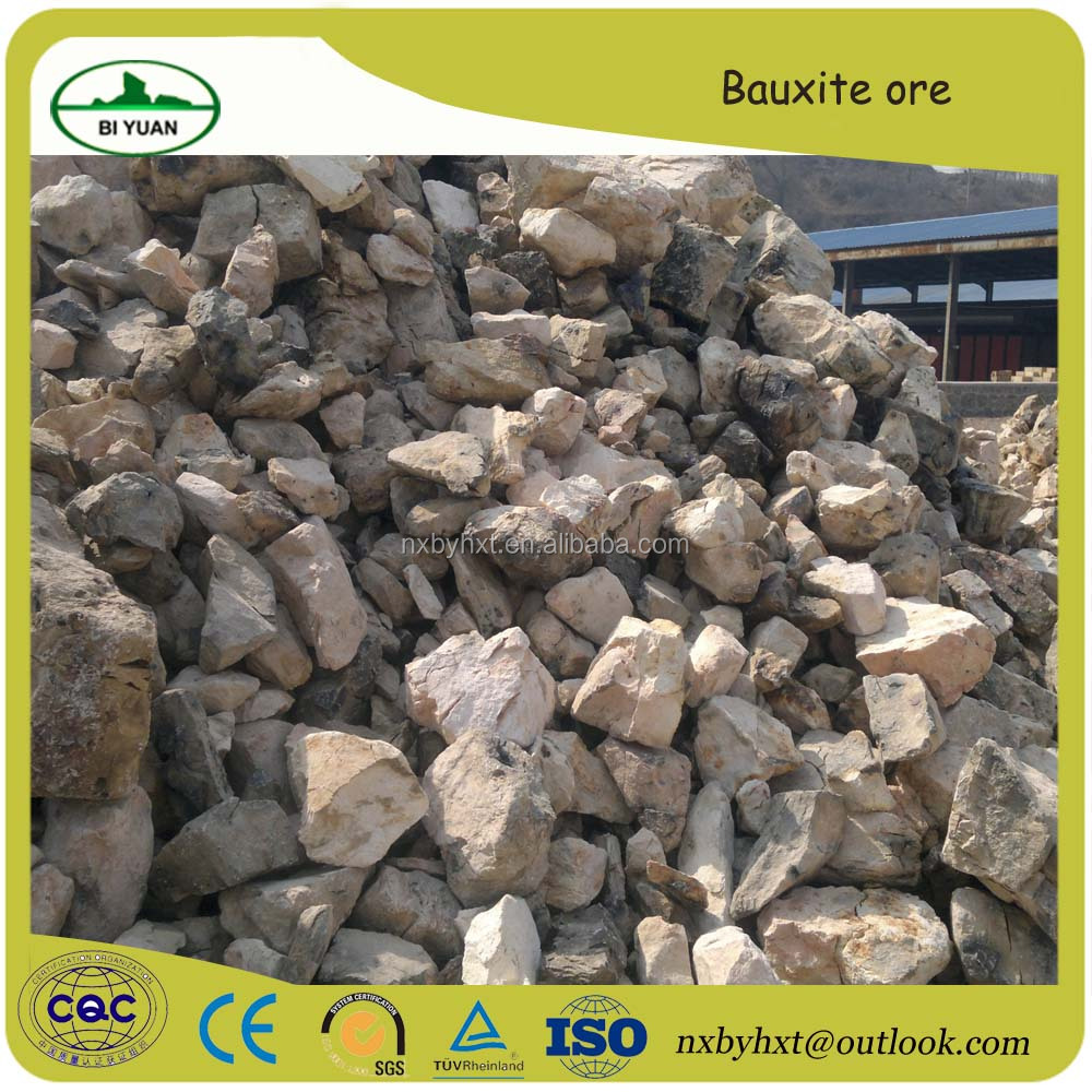 low iron bauxite alumina clinker aggregate and fine powder