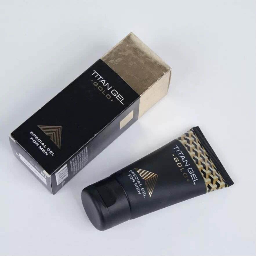 NEWEST Gold TITAN Increase Big Size Penis Erection Cream Long Time Sex Gel Oil  For Penis