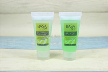 restaurant and hotel amenities bath oil bottles