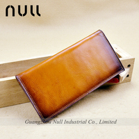 8 compartments vegetable leather wallet for travel documents