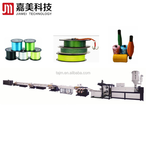PET plastic mono filament extruding line/broom filament extrusion machine