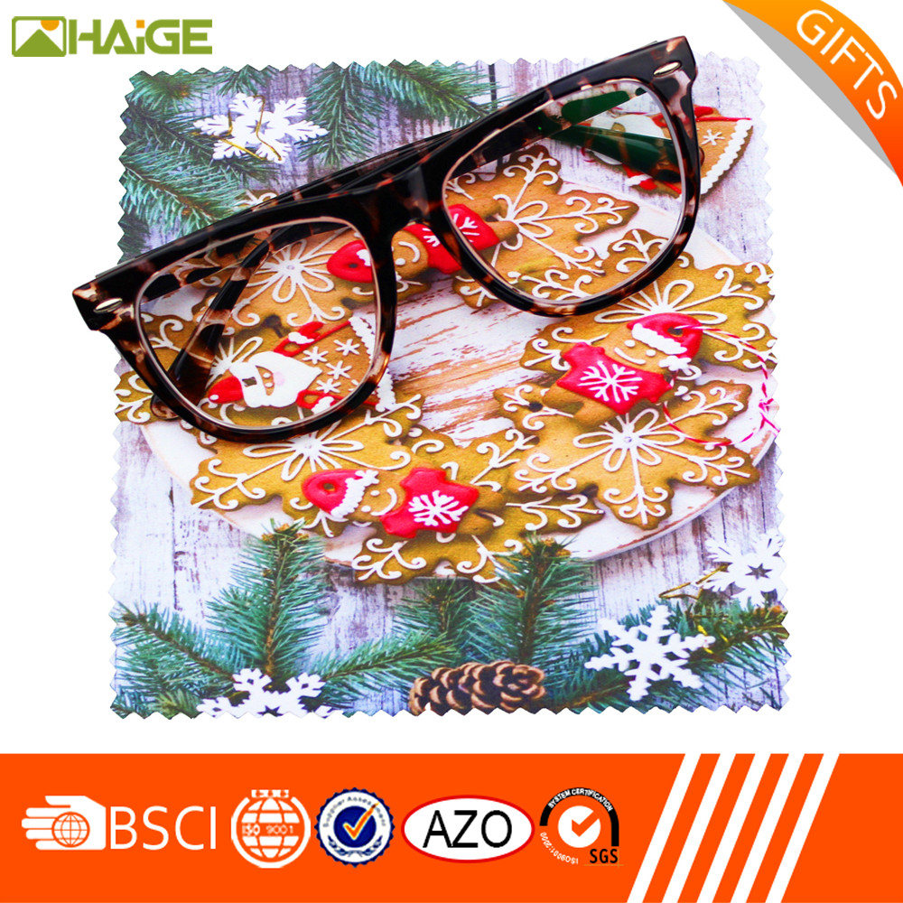 Best selling customised micro fiber wipes eyeglasses cleaner high quality