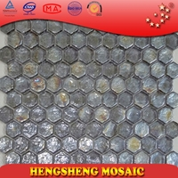 HZ08 Building materials bathroom and kitchen glass mosaic for decoration