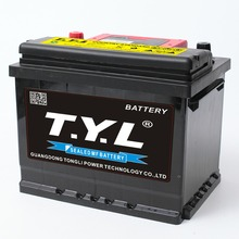 Chinese good quality 12v60ah wet charged MF L2-400 AGM battery for car/automobile