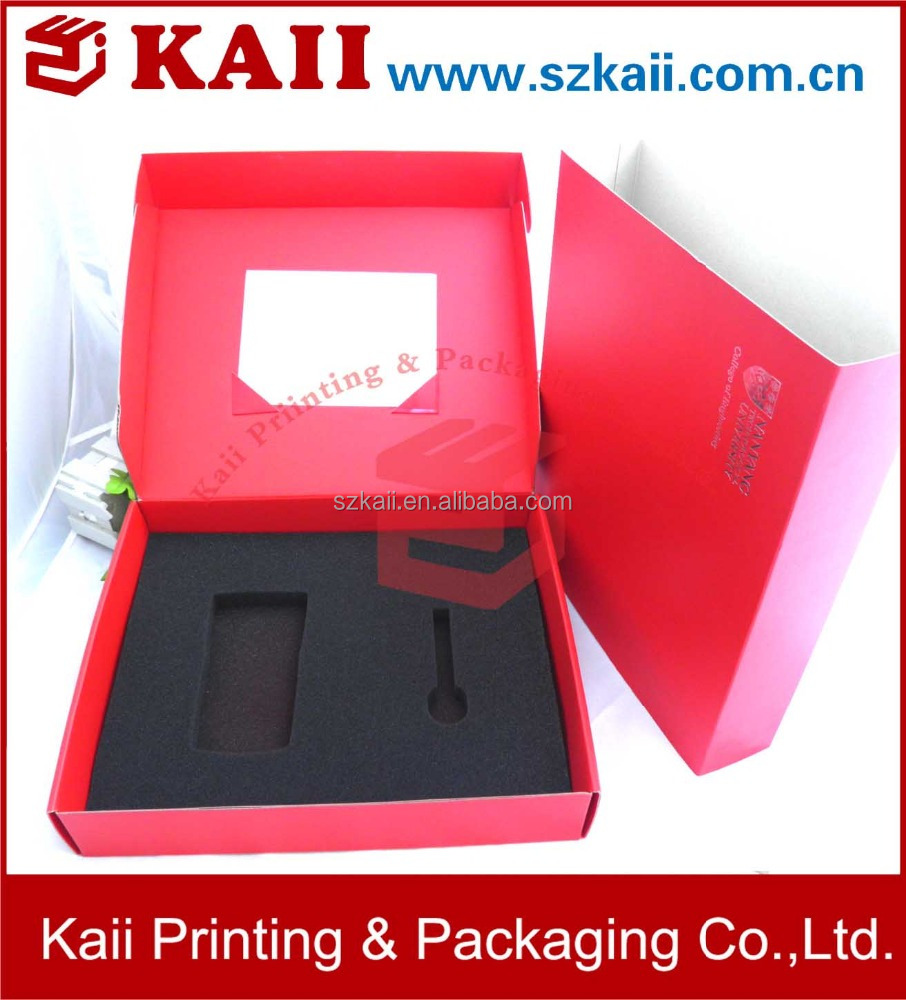 custom red paper box packaging ,gift paper box,paper cardboard suitcase box