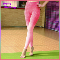 Colorful yoga pants printed sports clothing yoga wear drop shipping
