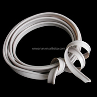 White color Soft PVC 3mm pvc edge banding for bags