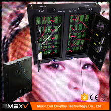 Maxv SMD led display module display P10 outdoor full color with waterproof iron cabinet