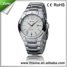 Hot Selling Brand Curren Full Stainless Steel Quartz Advance Watch