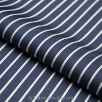 Luthai NOS 100% cotton yarn dyed vintage stripe men shirt fabric
