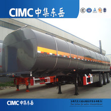 CIMC lpg propane transport trailers oil tank for sale for sale