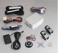 PKE car alarm system with remote engine start stop function
